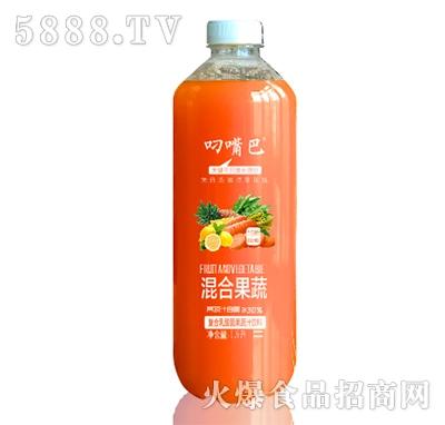 叼嘴巴混合果蔬复合乳酸菌果蔬汁饮料1.5L