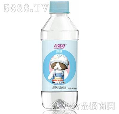 自然道原味苏打水350ml产品图