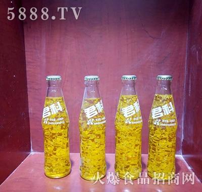 君科果粒果汁饮料220ml产品图