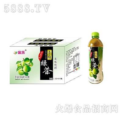 途乐青梅绿茶果味饮料500mlx15瓶