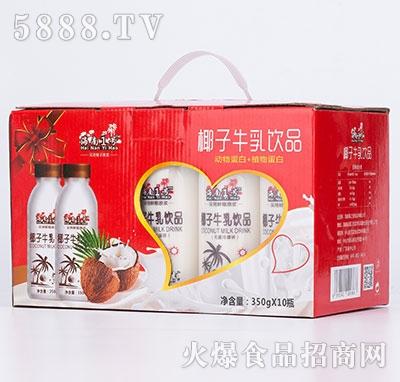 海南1号椰子牛乳350gx10瓶