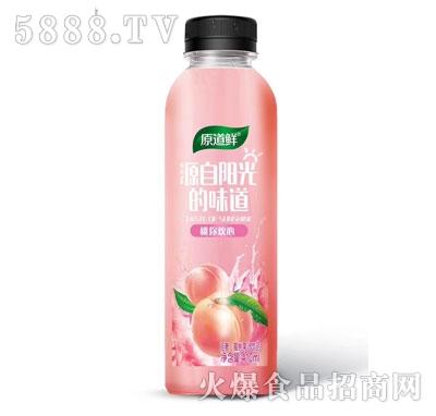 原道鲜蜜桃果汁饮品410ml
