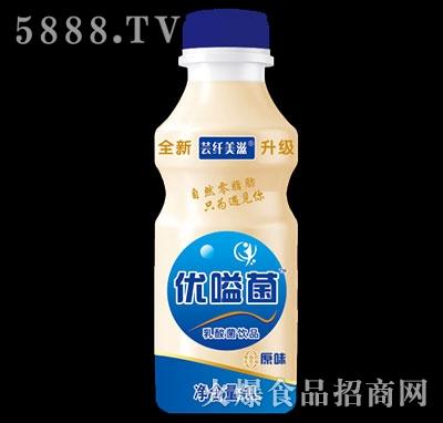 优嗌菌芸纤美滋乳酸菌饮品原味1L