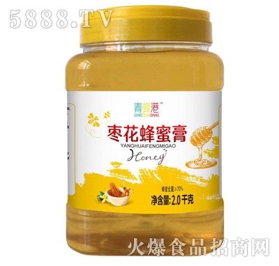 青蜂港枣花蜂蜜膏2kg