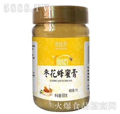 青蜂港枣花蜂蜜膏500g