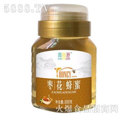 青蜂港枣花蜂蜜500克