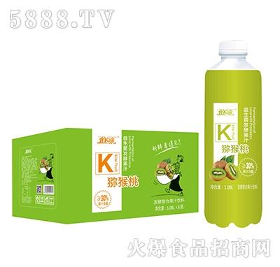 宜泉发酵猕猴桃复合果汁饮料1.08Lx8瓶