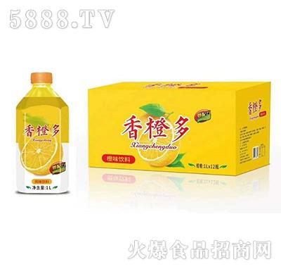 香橙多橙味饮料1Lx12瓶