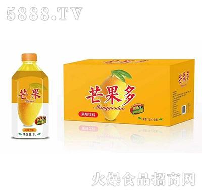 芒果多果味饮料1Lx12瓶