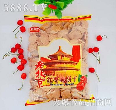 漂亮娃老北京红枣味饼干
