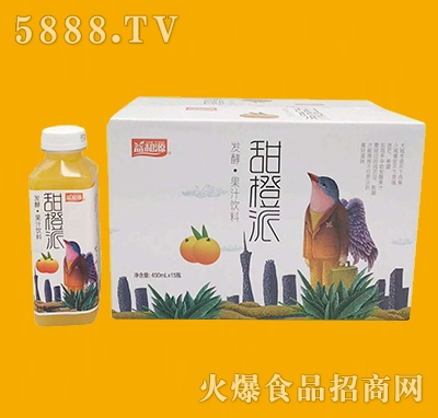 益和源甜橙派发酵果汁450mlx15瓶