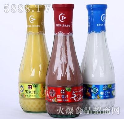 统业粗粮饮料(瓶)产品图