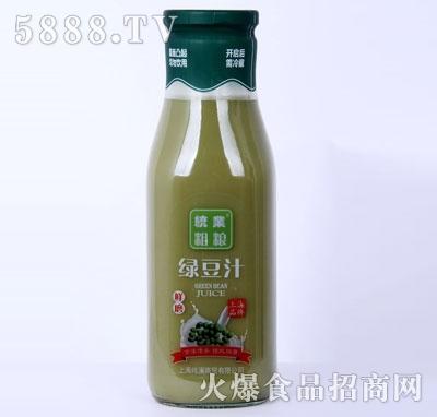 统业粗粮绿豆汁产品图