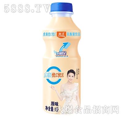 优C优E原味乳酸菌饮品1L