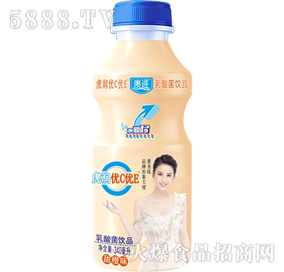 优C优E乳酸菌饮品340ml甜橙味