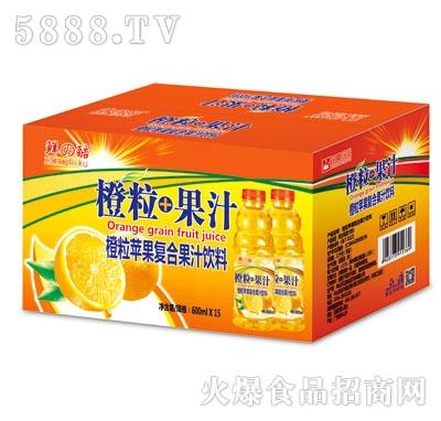 鲜之酷橙汁600ml外箱
