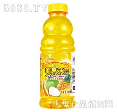 鲜之酷菠萝汁600ml