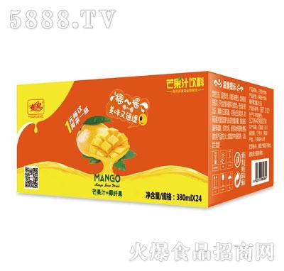 花皇芒果汁380ml外箱