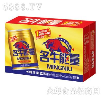 名牛能量维生素饮料245g外箱