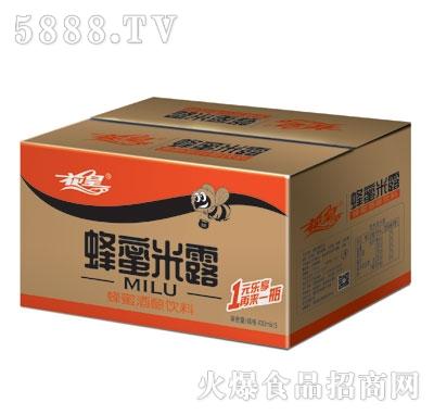 花皇蜂蜜米露430ml外箱