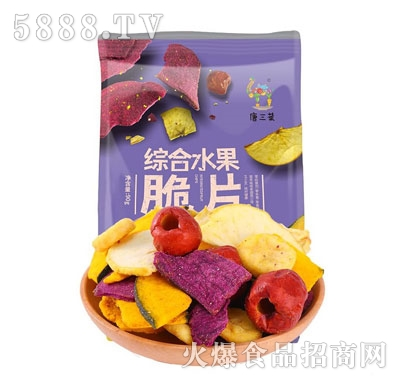 唐三菜综合水果脆片