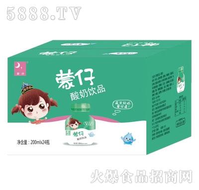 蒙仔酸奶饮品200mlX24产品图