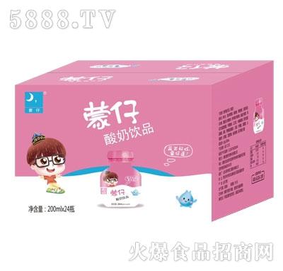 蒙仔酸奶饮品200mlX24瓶产品图