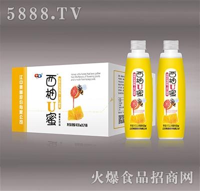西柚U蜜蜂蜜蜂蜜水饮品400mlx24瓶