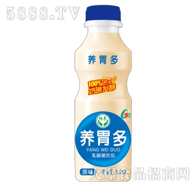 畅养养胃多乳酸菌饮品原味1.25L产品图