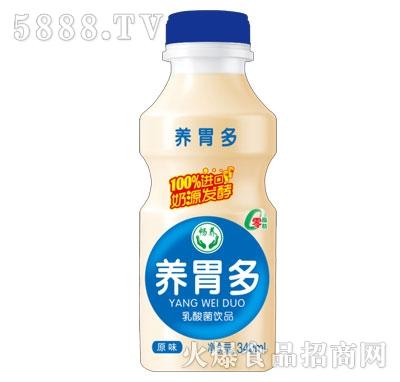 畅养养胃多乳酸菌饮品原味340ml产品图