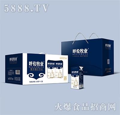 呼伦牧业复合蛋白饮料250mlx12盒