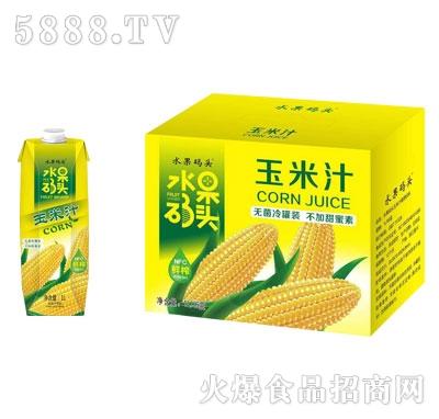 水果码头玉米汁1LX6