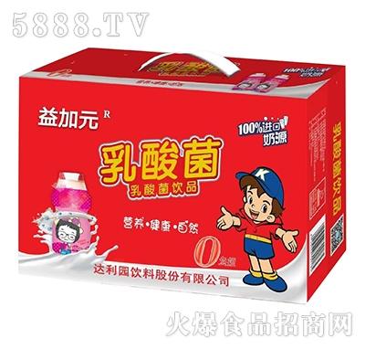益加元乳酸菌饮品箱装