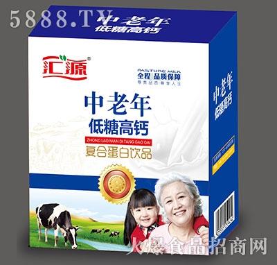 汇源中老年低糖高钙复合蛋白饮品250mlx12