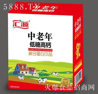 汇源中老年低糖高钙蛋白饮品250mlx12