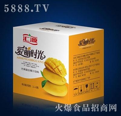 汇源爱萌时光芒果汁1Lx6