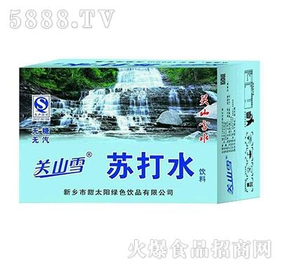 关山雪苏打水360mlx24瓶产品图