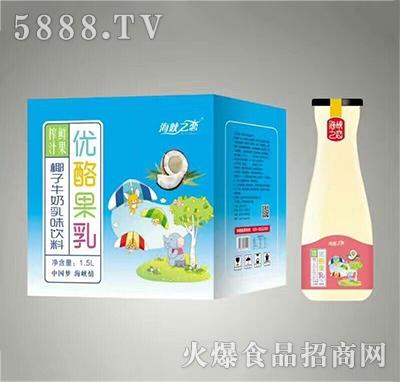 海峡之恋椰子牛奶1.5L×6瓶产品图