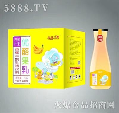 海峡之恋香蕉牛奶乳味1.5L×6瓶