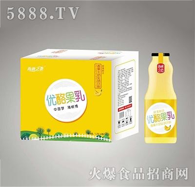 海峡之恋香蕉牛奶1.5L×6瓶