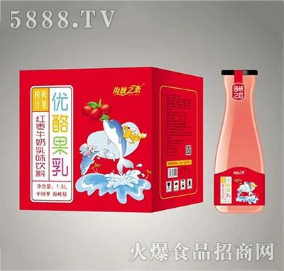 海峡之恋红枣牛奶1.5L×6瓶