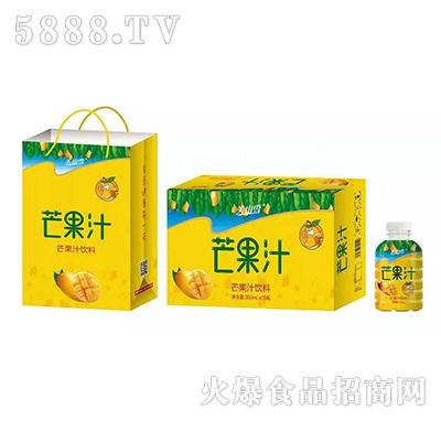 关山雪芒果汁350mlx15瓶