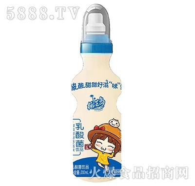 椰芝岛乳酸菌饮品原味200ml