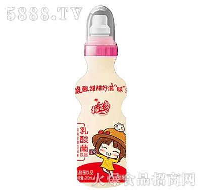 椰芝岛乳酸菌饮品草莓味200ml