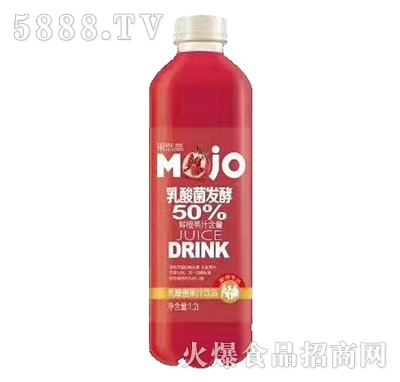 果然高乳酸菌发酵草莓果汁1.2L
