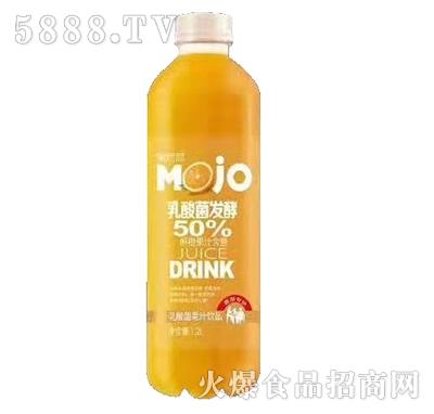 果然高乳酸菌发酵橙汁果汁1.2L