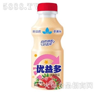 优益多乳酸菌草莓味340ml产品图