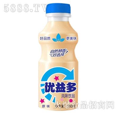 优益多乳酸菌原味340ml产品图