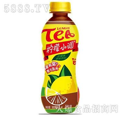 柠檬小调柠檬茶500ml瓶装