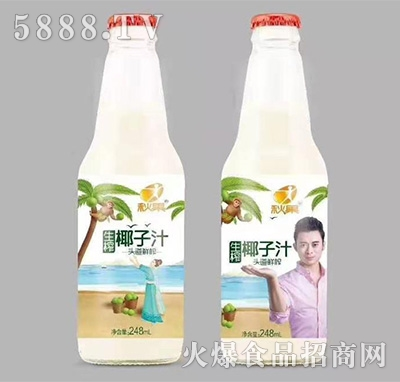 秋果生榨椰子汁248ml